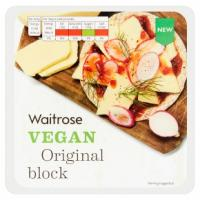 Waitrose Vegan Original Cheese Block