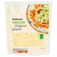 Waitrose Vegan Original Cheese Grated