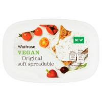 Waitrose Vegan Original Soft Spreadable Cheese
